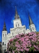 St. Louis Cathedral, Jackson Square.