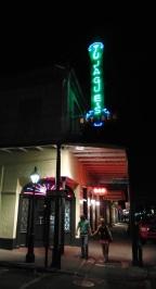 An evening stroll past Tujague's on Decatur Street.