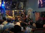 Frenchmen Street features a number of small music clubs, including the Spotted Cat.