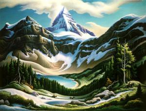 Thomas Hart Benton, Trail Riders