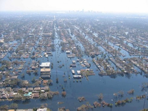 Hurricane Katrina, New Orleans flooding,