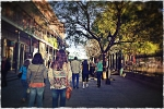 Jackson Square walk toned