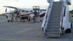 Tropical Air runs a 14-passenger Cessna on the milk run between Belize City and Placencia.