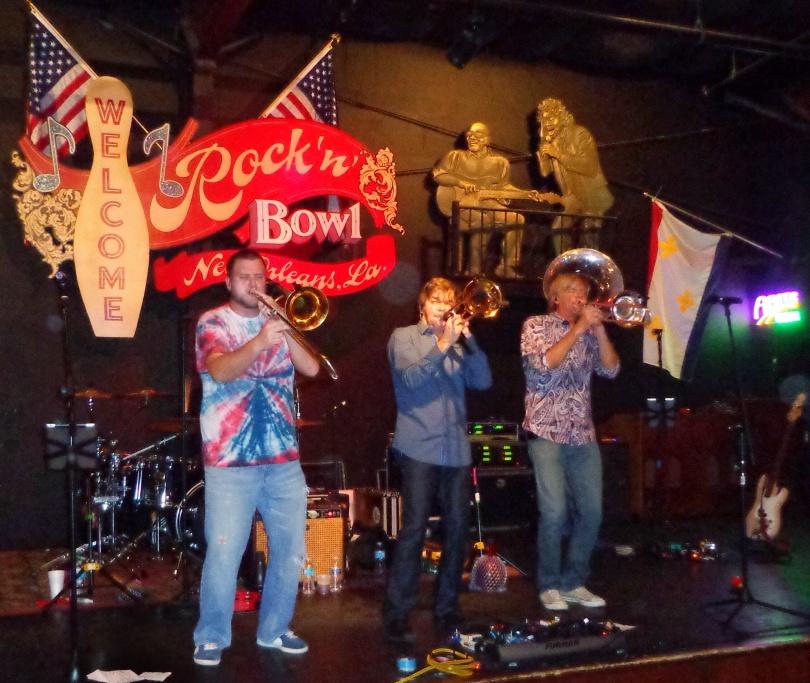 Bonerama Rock n Bowl New Orleans