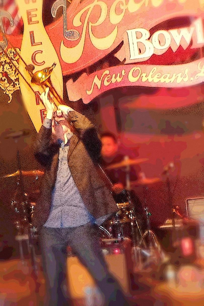 New Orleans band Bonerama Mark Mullins