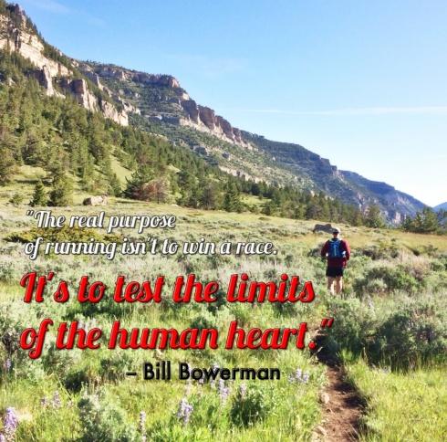 Purpose of running