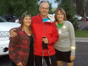 I wouldn't have made it without the support of my daughter, Laura, and wife, Barb.